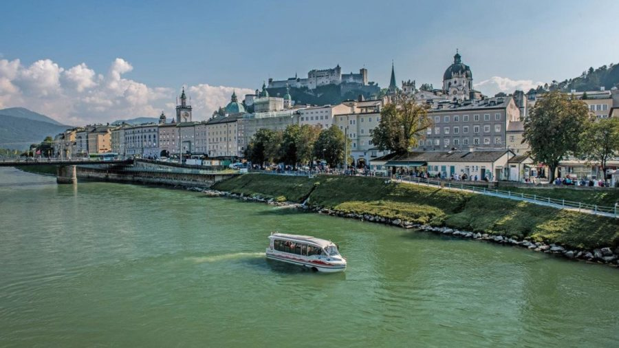 Amphibienbus in Salzburg