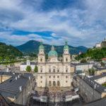 Domplatz in Salzburg