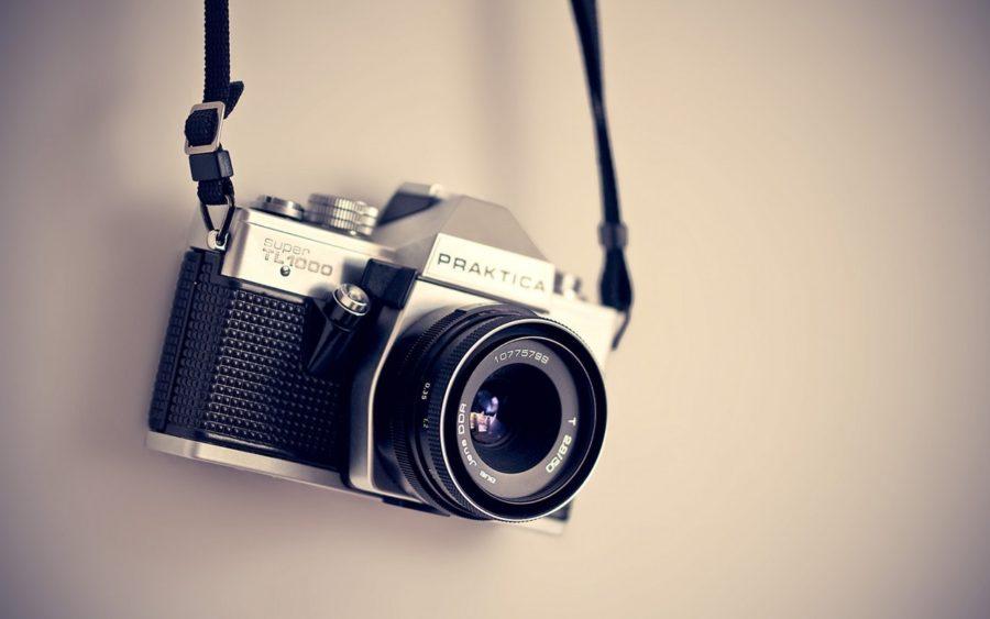 Aufgehänge Spiegelreflexkamera
