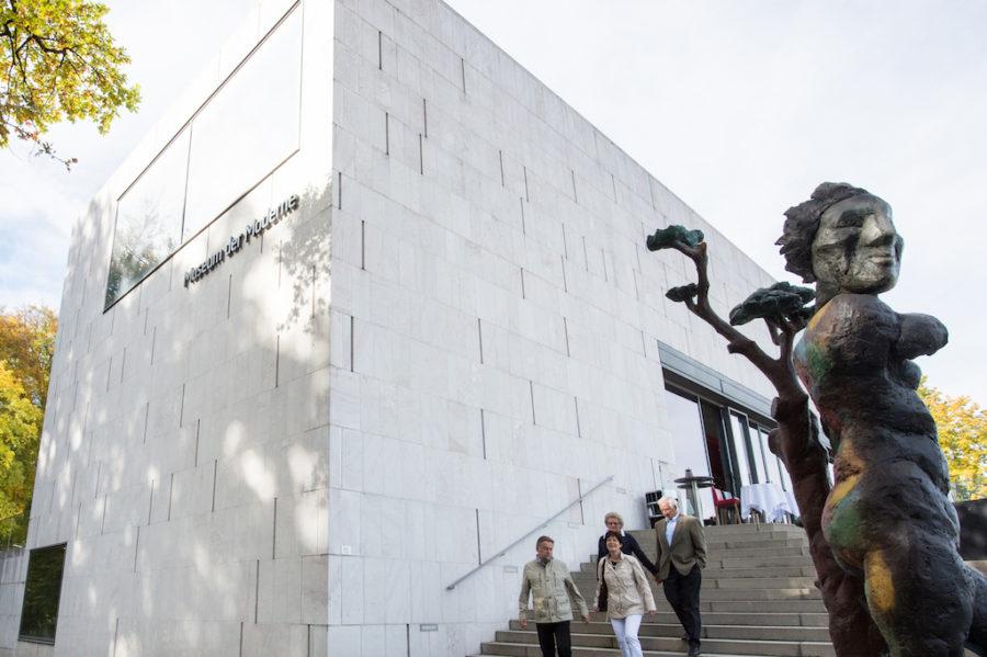 Außenansicht Museum der Moderne in Salzburg