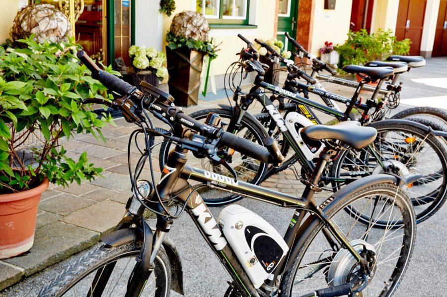 Fahrradverleih im Hotel Gabi in Salzburg Wals