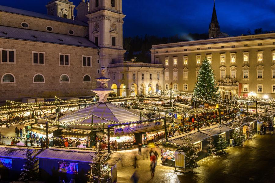 Nachaufnahme des Salzburger Christkindlmarktes