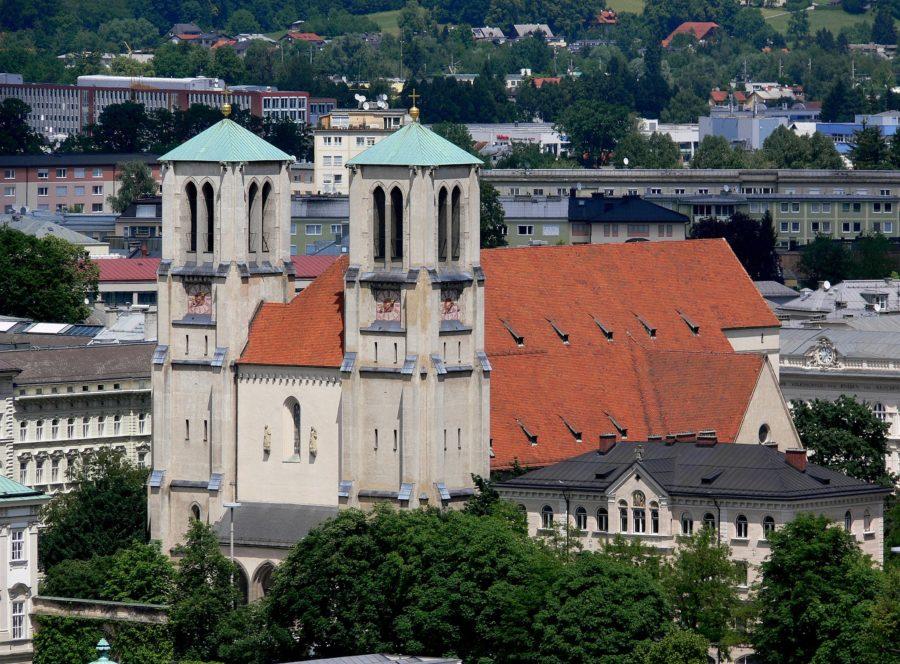 Die Andräkirche in Salzburg