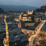 Salzburg aus der Vogelperspektive