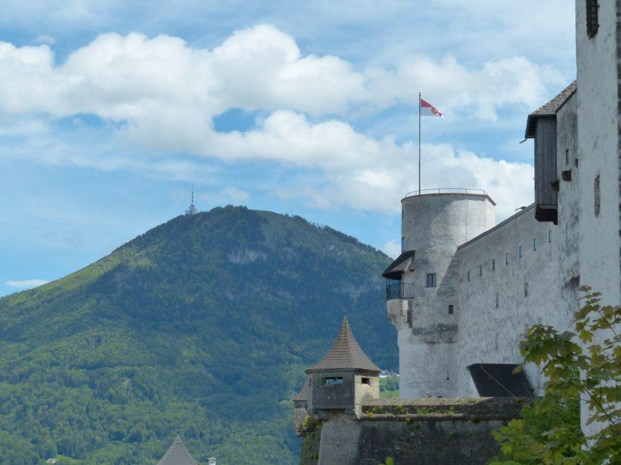 Der Gaisberg aus Sicht von der Festung Hohensalzburg