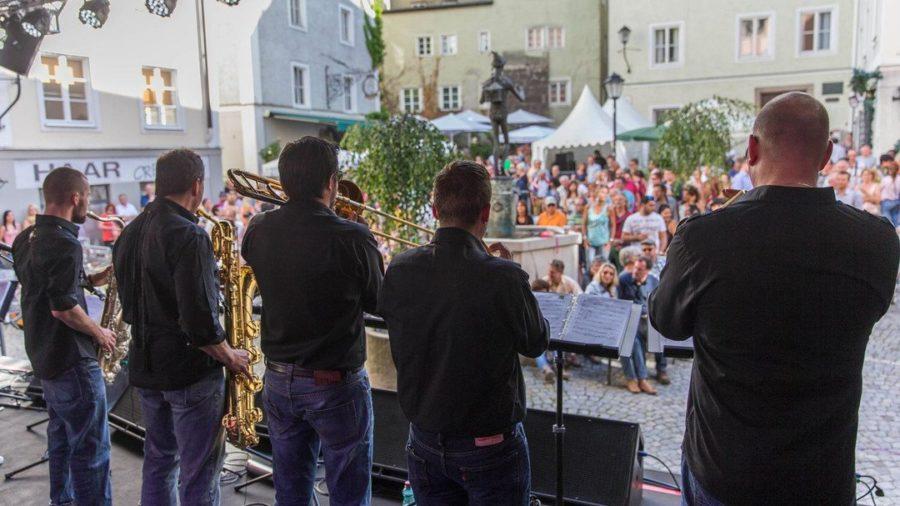 Band beim Kaiviertelfest