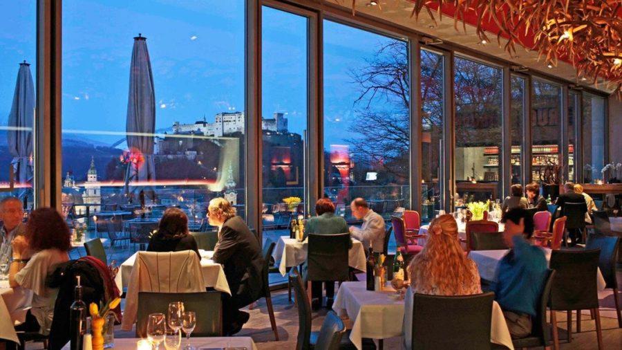 Restaurant m32 Innenbereich