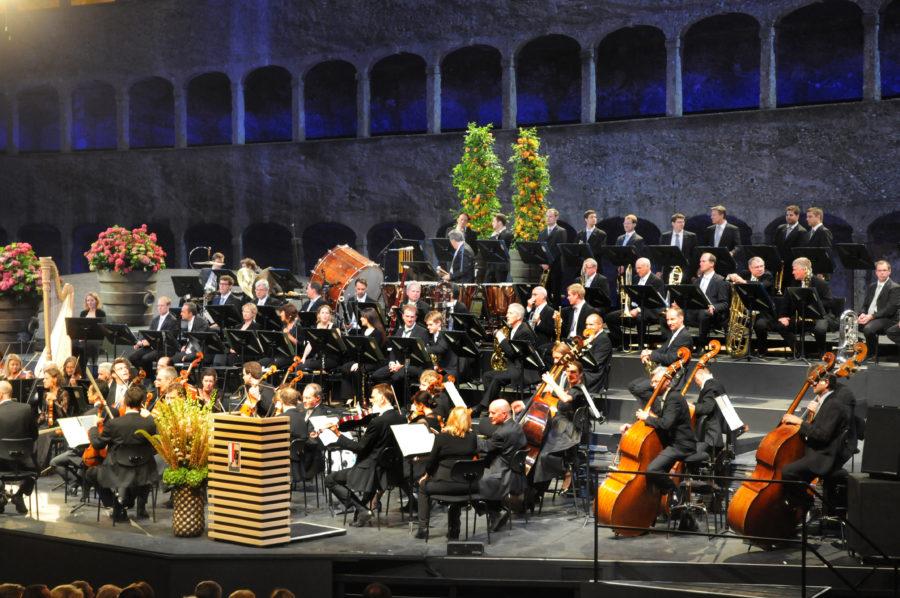 Salzburger Festspiele, Felsenreitschule, Eröffnungskonzert 2012