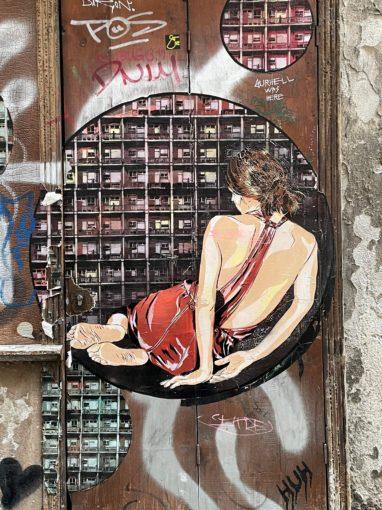 Street Art Tändlerei