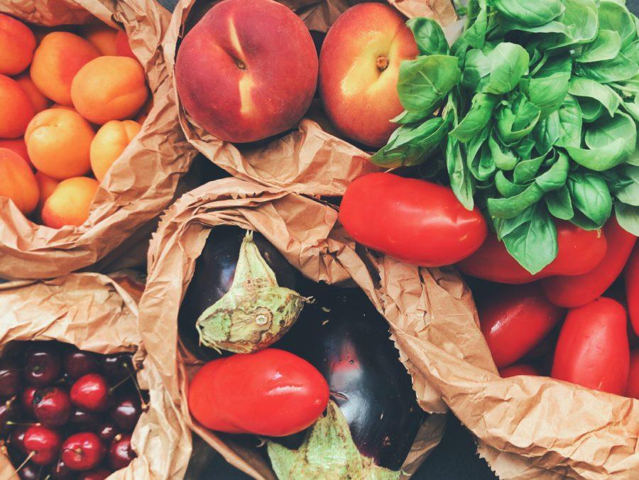 Frisches Obst und Gemüse auf Salzburgs Wochenmärkte.