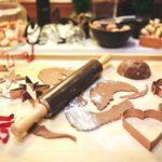 Kekse in der Weihnachtszeit