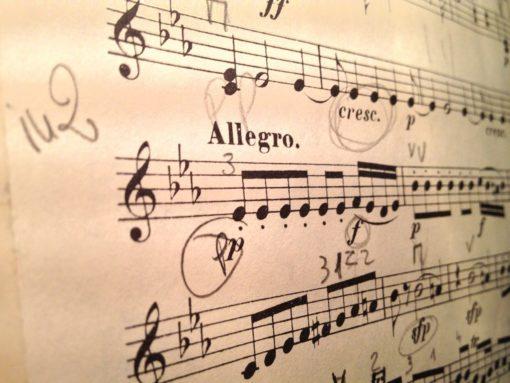 Allegro Musikstück