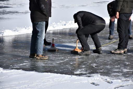 Eisstocks schießen in Salzburg